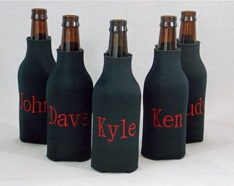 Personalized Long Neck Beer Bottle Neoprene Cooler