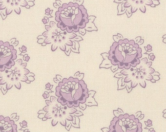 PURPLE ATHILL RANGE Cabbages & Roses Moda shabby quilt fabric prairie style lilac flowers 1 yard 35217-14