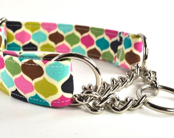 Chain Martingale Collar - You Pick the Fabric