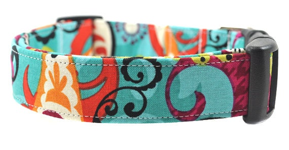 Floral Dog Collar - The Adele