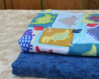 Receiving Blankets - Dino Pair