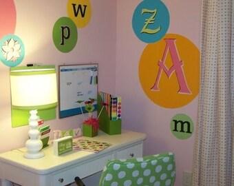 Alphabet Decal Set for Girls