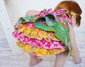 Diaper Cover Sewing Pattern, Ruffle Diaper Cover, Ruffle BUtt, Baby Diaper Cover Pattern, 0-3m to 3T