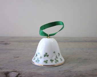 Irish Shamrock Bell China St. Patrick's Day