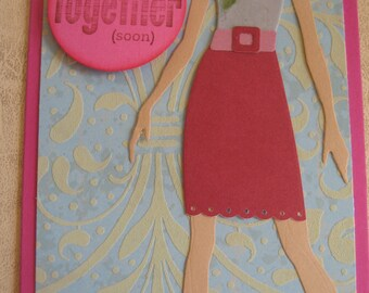A Let's Get Together Soon Card