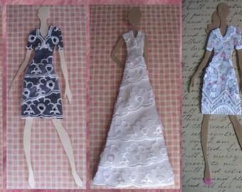 Custom Order Fashion Doll Card(s)
