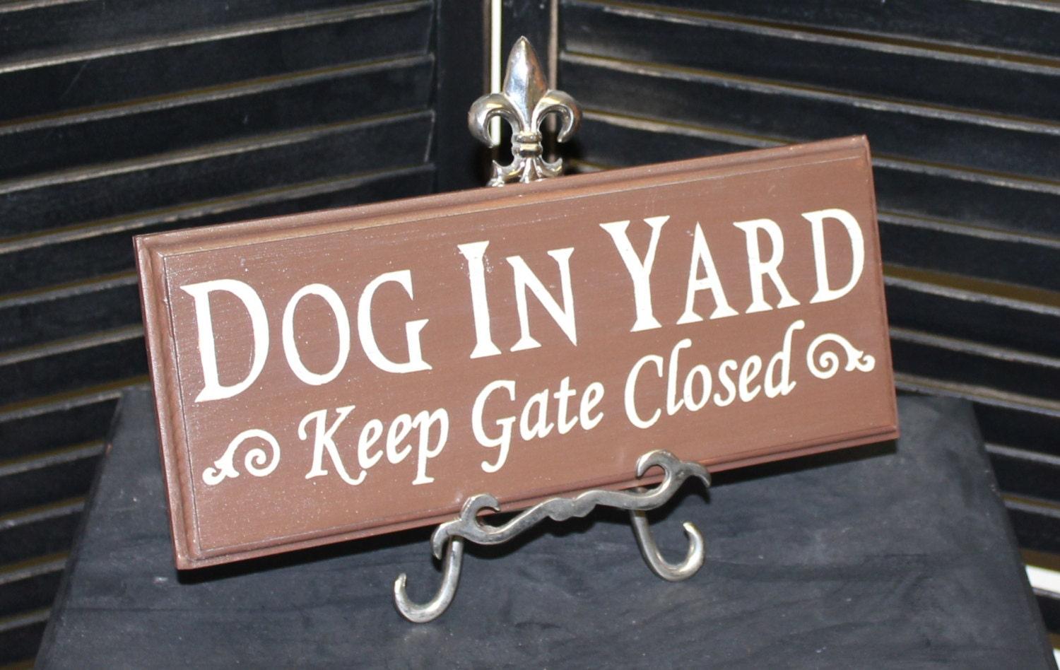 Dog In Yard Keep Gate Closed Sign Dog Sign Gate Sign Pet