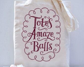 Totes Amaze Balls Tote Bag