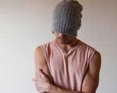 Hand Knit Hat for Men - Shear Alpha
