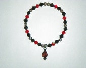 90% Off SALE - Vampire's Tear-Drop Bracelet:  Hand-Made Jewelry By T.L.C.
