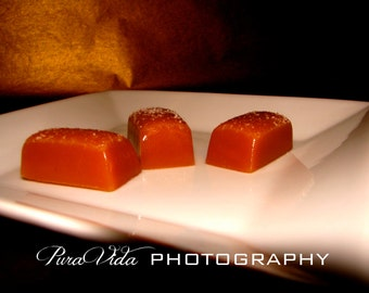 Honey Salted Caramels - Great for WEDDING, ENGAGEMENT, PARTY Favors