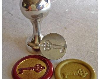 Key Design Wax Seal Stamp