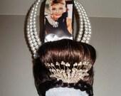 """high heel shoe sculpture """"Audrey Hepburn """""""