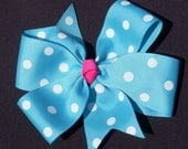 "Girls' Matching 4"" Hairbow"