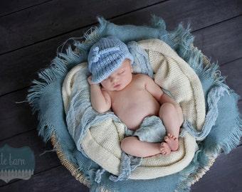 Newborn Photo Prop Burlap Blanket Layering Photography Prop Basket Filler Basket Stuffer Mini Blanket