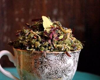 Indian Warrior Herbal Ceremonial Blend Pedicularis Densiflora for relaxing Smudge or Tea