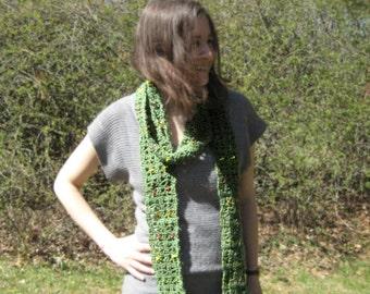 Spring Garden lace scarf