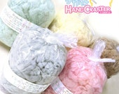 Japanese Hamanaka Wool Felt Color Scoured Series Curly Wool (30g)  8 Color