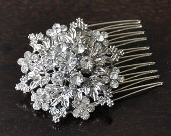Bridal Comb ,  bridesmaidcomb , Bridal Hair Accessory,Bridal Hair Comb,Wedding comb, rhinestone bridal Hair comb, crystal  Bridal Haircomb