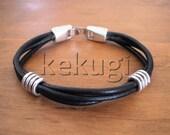 Bracelets for Men, mens fashion, mens jewelry, leather bracelets, mens silver bracelets, etsy handmade jewelry, etsy bracelets, jewelry