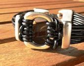 Mens bracelets, mens silver bracelets, mens jewelry, designer bracelets, jewelry bracelets, mens leather bracelets, etsy bracelets