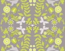 Ty Pennington Home Decorator Weight Fabric, Foliage in Chartreuse, Impressions Collection, 1 Yard