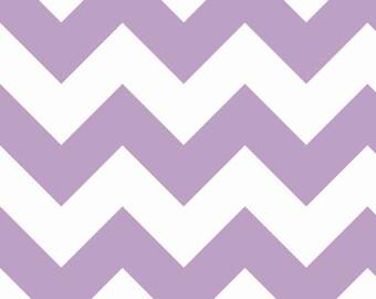 Large Chevron in Lavender by Riley Blake Fabrics, 1 Yard