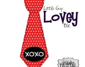 1 Printable Valentines Day Red and White Polka Dot Tie Printable Iron On Tie Decal, baby tie, boy Printable Iron on tie for bodysuits shirts