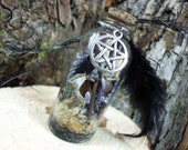 Witches Bottle, Protection Spell Bottle for the Home, Witchcraft, Wicca, Remove Negative Energy, Hex, Curses, Evil Eye