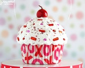 Mini Fake Cupcake Decoration XOXO - Valentine's Day Decoration #CUP146