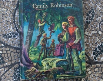 The Swiss Family Robinson  by Johann Wyss - Illustrated by Lynd Ward