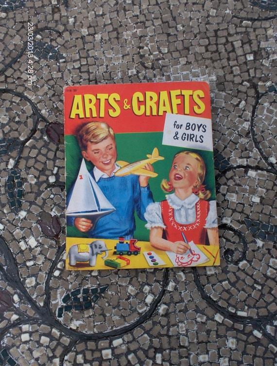 Arts crafts for boys and girls by helen by for Boys arts and crafts