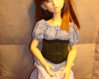 SD BJD Dollfie Corset  Green