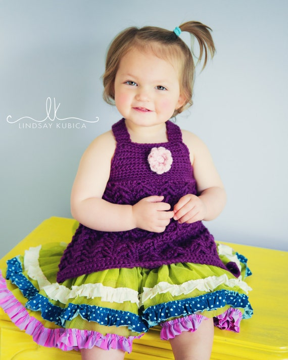 Crochet Pattern Criss Cross Tunic
