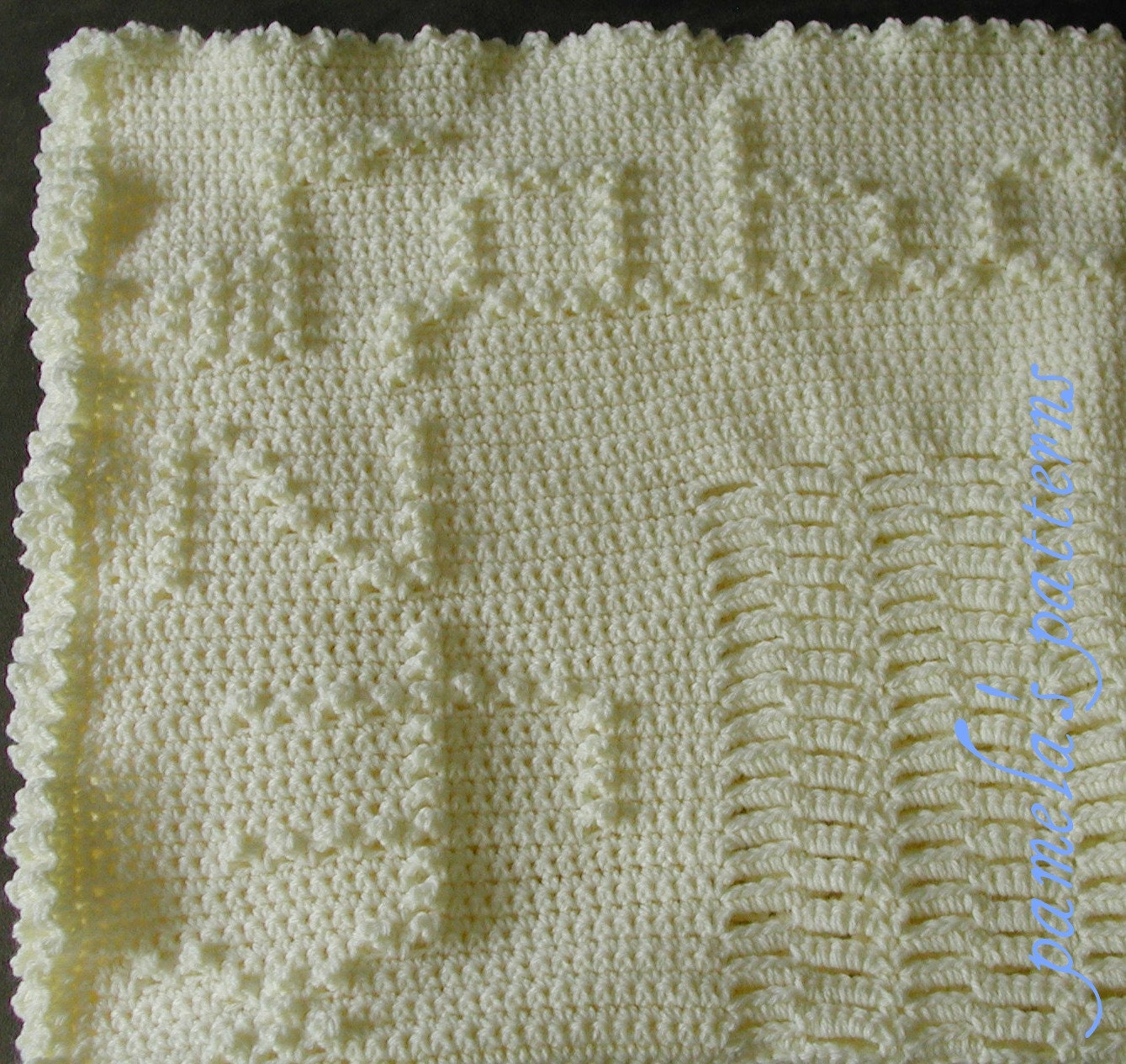 Abc Crochet Baby Blanket Free Pattern : Crochet Singing your ABCs while you make this blanket
