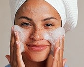 Cleansing Foaming Face Wash- Organic Skincare- Daily Beauty Treatment- Natural- Unisex Skincare- Mother's Day- Gifts for Dad- Teen Skincare