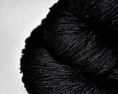 Black Hole - Silk Lace Yarn - Black Friday sale: 15% off with code CYBERMONDAY