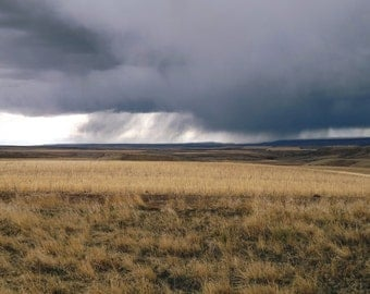 Storm Over the Prarrie  P 34