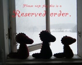Reserved order, Recycled woolly dragons