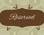reserved listing for Linda of twoiguanasglass
