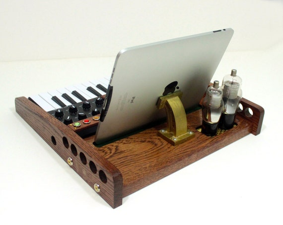 ipad tablet music workstation midi keyboard pads and by woodguy32. Black Bedroom Furniture Sets. Home Design Ideas