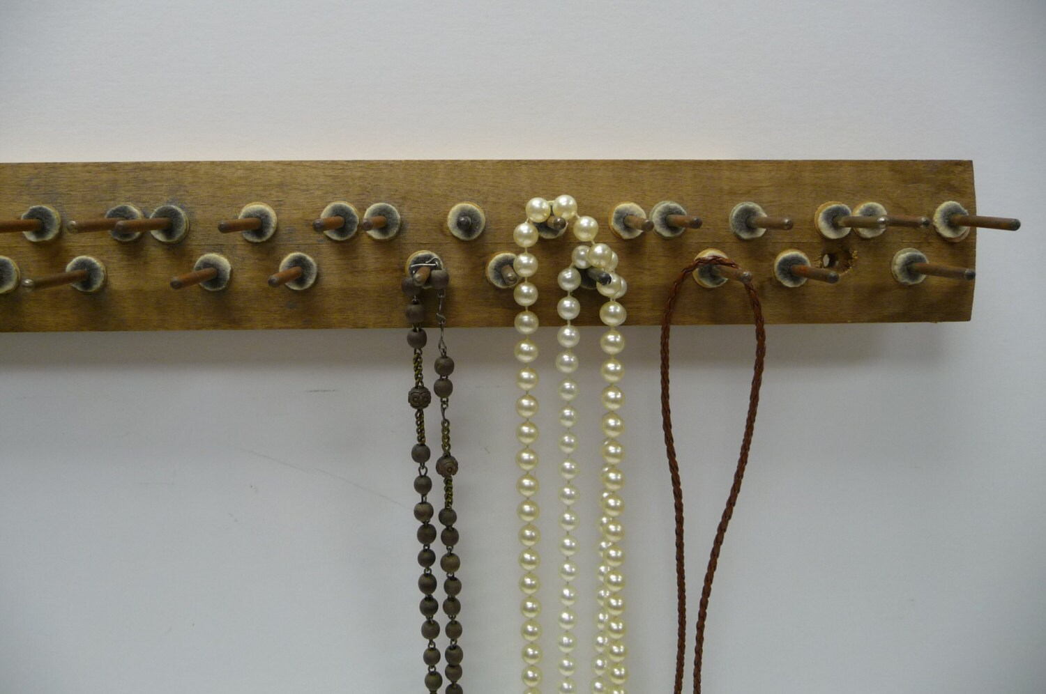 vintage piano part hooks hanger jewelry display wall mounted