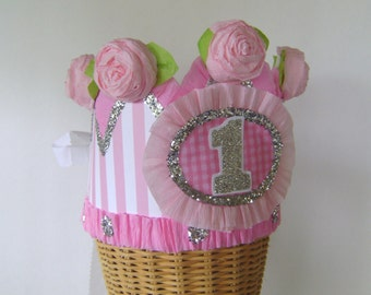 1st Birthday Crown -  CUSTOMIZE with any number
