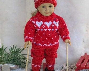 LOVE ME TENDER Doll Knitting pattern
