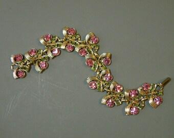 Rose & Olive Link Bracelet