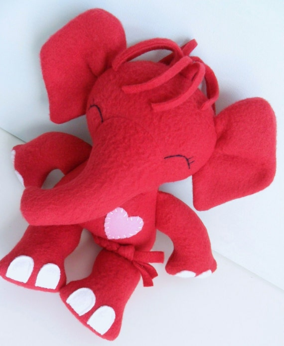 Toys For Valentines Day : Valentine s day kids baby toys stuffed toy by dancingdogs