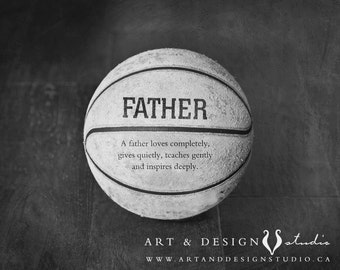 Custom Gifts for Him, Worlds Best Dad, Basketball Print, Father Birthday Gift, Sport Art Decor, Dad Gift, Unique Fathers Day Gift Idea