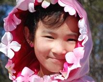 Child's Cloak,Pink Petals