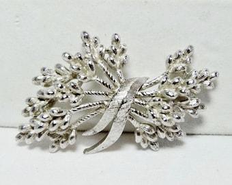Trifari Bouquet of Wheat Brooch 1950s Apparel & Accessories Jewelry Vintage Jewelry Brooch
