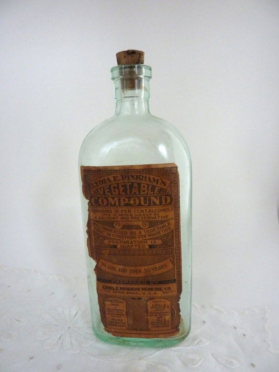 Lydia Pinkham S Medicine Bottle